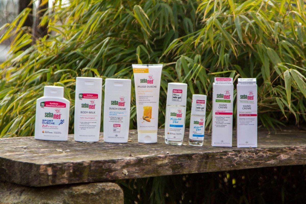 Pflegeprodukte von Sebamed für unsere Mitglieder eingetroffen