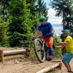 Advanced Fahrtechnik Kurs Mountainbike Herwig Kamnig areaone Villach (3)
