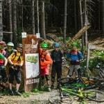 Spitzkehren Fahrtechnik Kurs Mountainbike Herwig Kamnig areaone Villach (1)