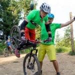 Spitzkehren Fahrtechnik Kurs Mountainbike Herwig Kamnig areaone Villach (3)