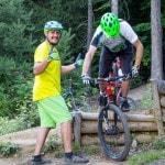 Spitzkehren Fahrtechnik Kurs Mountainbike Herwig Kamnig areaone Villach (4)