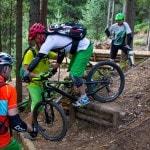 Spitzkehren Fahrtechnik Kurs Mountainbike Herwig Kamnig areaone Villach (6)
