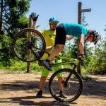 Spitzkehren Fahrtechnik Kurs Mountainbike Herwig Kamnig areaone Villach (7)