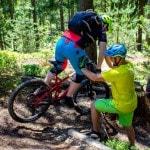 Spitzkehren Fahrtechnik Kurs Mountainbike Herwig Kamnig areaone Villach (8)