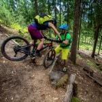 Spitzkehren Fahrtechnik Kurs Mountainbike Herwig Kamnig areaone Villach (9)