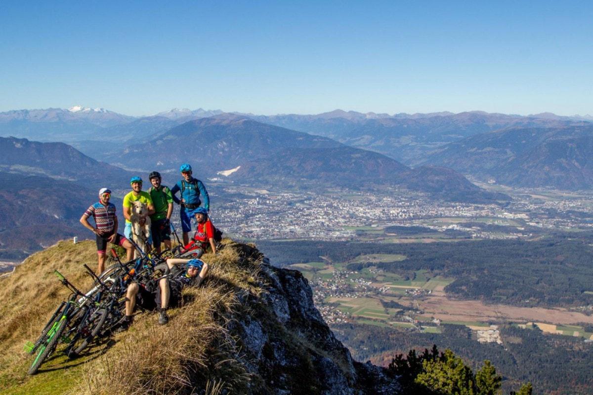 Slowenien Villach Karawanken Herwig Kamnig Mountainbike (12)