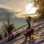 Radlager_Mountainbike_Villach_Winter_Schnee_Sonnenuntergang (1)