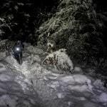 Radlager_Mountainbike_Villach_Winter_Schnee_Sonnenuntergang (11)