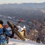 Radlager_Mountainbike_Villach_Winter_Schnee_Sonnenuntergang (2)
