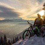 Radlager_Mountainbike_Villach_Winter_Schnee_Sonnenuntergang (4)