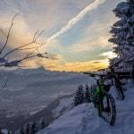 Radlager_Mountainbike_Villach_Winter_Schnee_Sonnenuntergang (6)