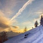 Radlager_Mountainbike_Villach_Winter_Schnee_Sonnenuntergang (7)
