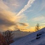 Radlager_Mountainbike_Villach_Winter_Schnee_Sonnenuntergang (8)