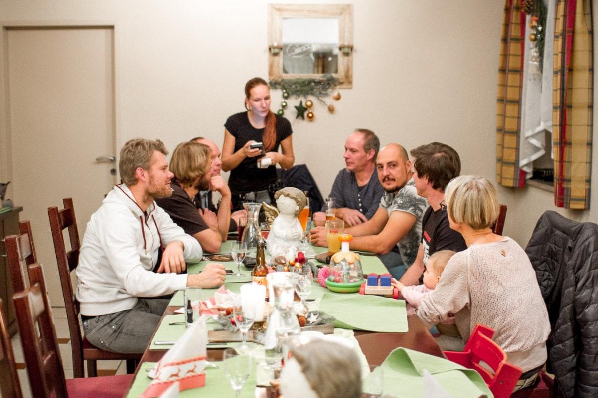 Weihnachtsfeier 2017 in Villach