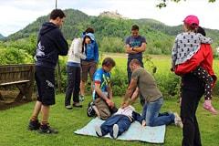 Erste Hilfe Kurs in Villach für Mountainbiker