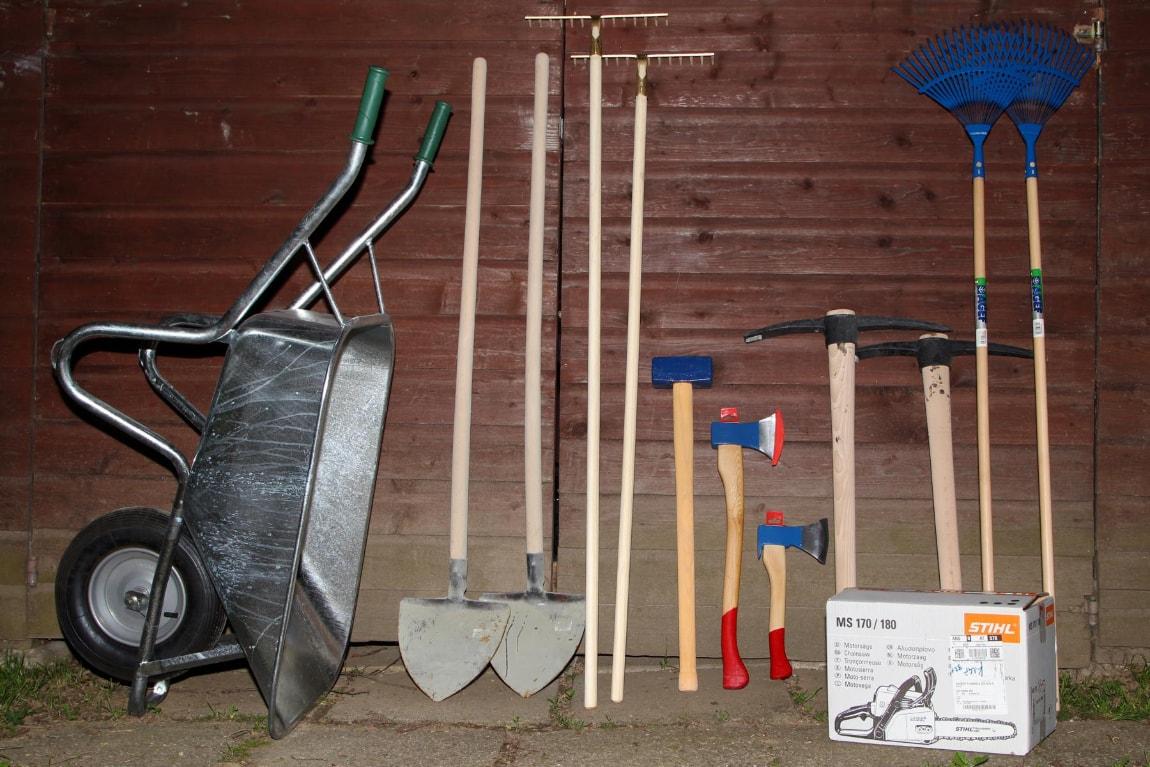 Werkzeug für Trailbau – gesponsert von Swietelsky
