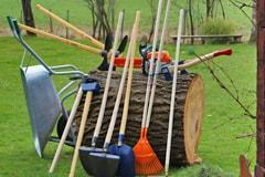 Werkzeug für Trailbau in Villach – gesponsert von Swietelsky